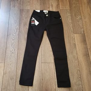 Girls Black Guess Jeans, Size 12